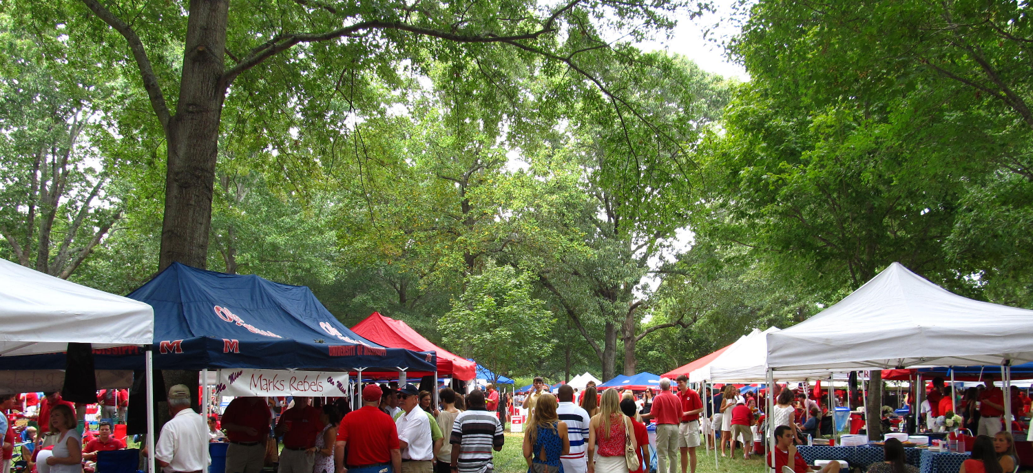 Where Saturdayu0027s create lifelong memories. & Grove Tent Set Up History | Tailgate Group - Oxford MS